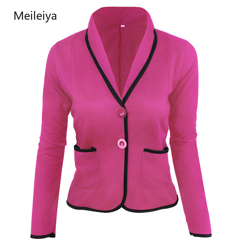 2019 Spring And Summer New Slim Slimming Temperament Small Suit Women's Solid Color Casual Suit