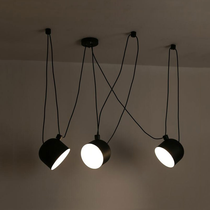 3 heads Tabour Loft pendant lamp modern nordic dining room living room restaurant cafe club bedroom bar hall pendant light