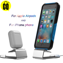 2019 For Airpods steady charging stand table base ,For iPhone dock station foothold display