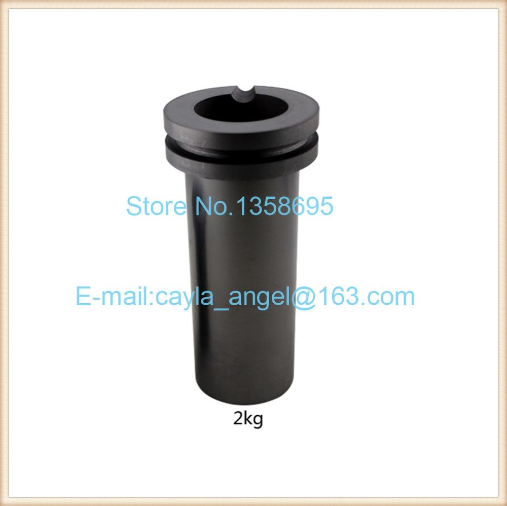 free shipping 2KG Capacity Graphite pot,Gold Melting Furnace accessories,Graphite Crucible,jewelry melting crucible
