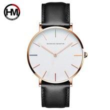 Пара кварцевые часы Японии Для мужчин Для женщин наручные часы Элитный бренд кожа моды мужской женский часы Relogios Feminino Masculino часы