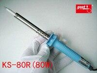 Japan GOOT Brand Repair Tools KS 80R Rapid Thermal Durable Electric Soldering Iron Input 220V Power