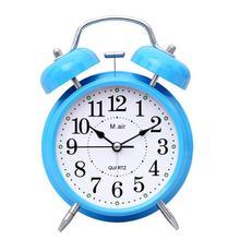 Прикроватная тумбочка для спальни бесшумные металлические электронные часы-будильник A108