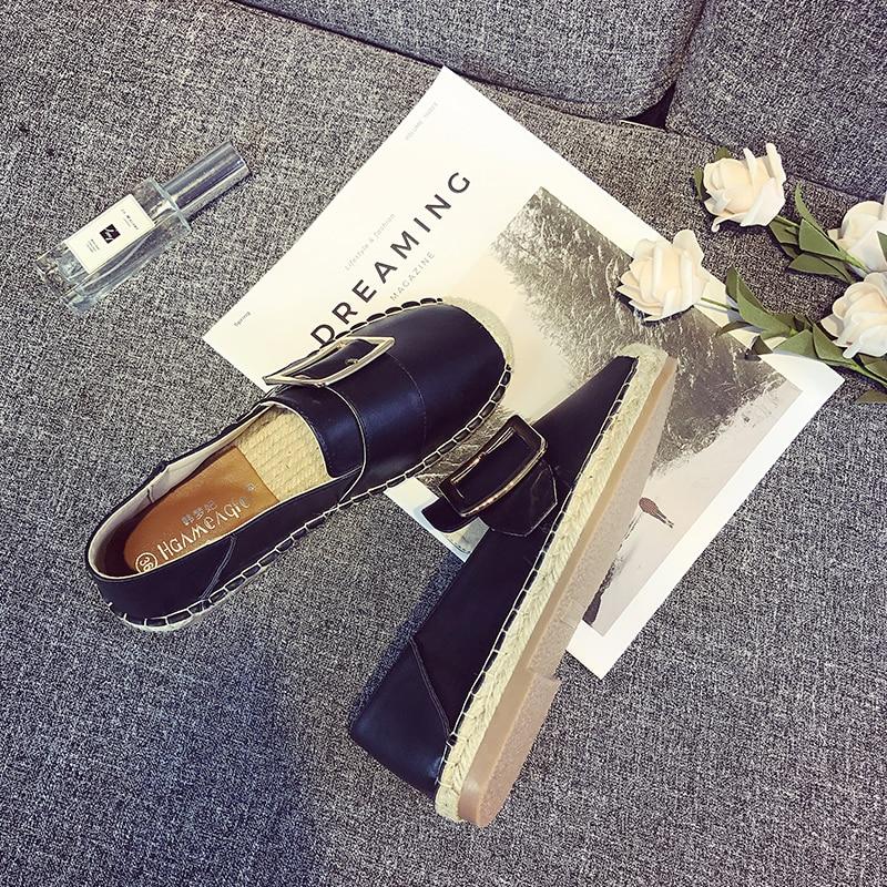 Nueva 1 2018 Casual De Mujer Blanco Zapatos Pequeña Planos 2 Otoño Fragancia w1ZqBI1Ux