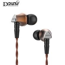DUNU טיטאן 6 דינמי 12.6mm בריליום סרעפת TITAN6 T6 HIFI אטמי אוזניים ספורט Wired נייד טלפון באוזן אוזניות