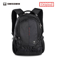 Swisswin New 2016 Laptop Case Notebook 15 6 Backpack School Bag For Teens Mochila Escolar Men
