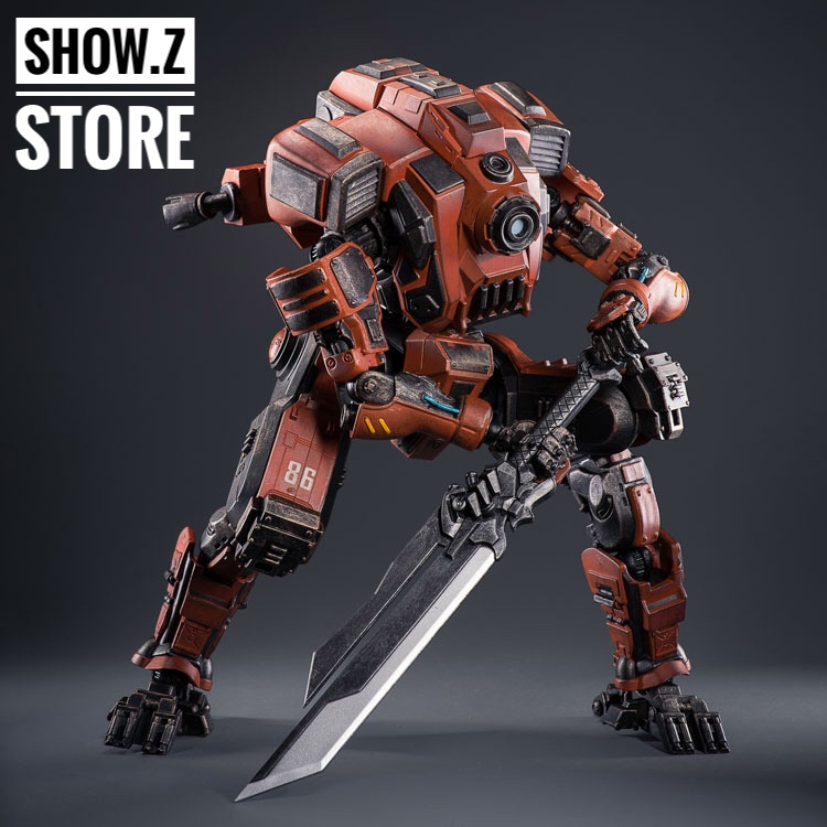 все цены на [Show.Z Store] JoyToy Source Acid Rain XT8026 Xingtian Steel Knight Action Figure онлайн