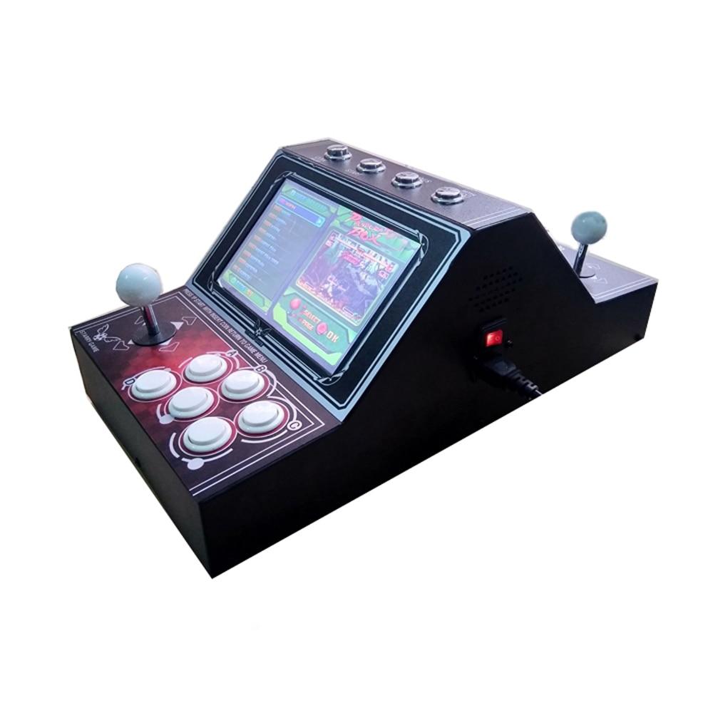 """9 """"จอแอลซีดีขนาดเล็กบนโต๊ะอาเขตด้วยเกมคลาสสิก 1500 ใน 1 PCB / มินิเครื่องเกมอาเขต"""