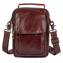 JMD Genuine Cow Leather Sling Bag For Mens Messenger 1032A/B