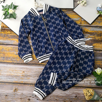 890 New Christmas Active Princess Winter Fall Autumn Baby Girl Clothing Set Coat Outwear Top + Pant Wholesale Baby Girls Clothes