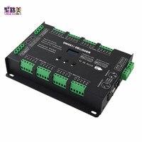 Постоянная Напряжение 32CH dmx светодиодный декодер DC5V 24V 3A * 32CH 8 port x 4CH выход DMX512 контроллер BC 632 для RGB RGBW светодиодный полосы света