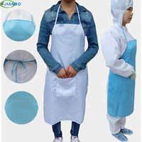 Restauracja spawacz antystatyczne poliester do prac spawalniczych fartuch ochrony Unisex odzież robocza bezzapachowy fartuchy z kieszeniami dla kobiety