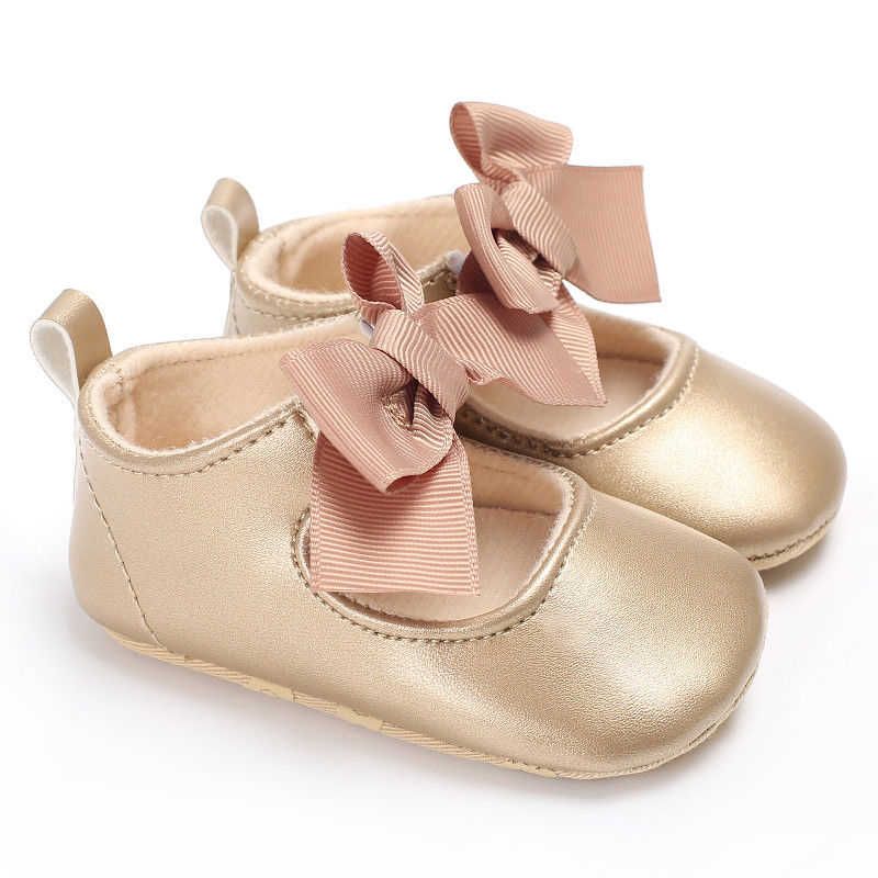 Girls Shoes 2019 Autumn  Toddler Newborn Baby 3D Bowknot Crib Shoes Princess Baby Soft Cotton Non-slip Prewalker For Baby Girls