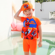 Extrayou Child Swimsuit Baby Boys One-Pieces Float Buoyancy Swimwear Detachable Bathing Suit Protective Safe Learning Swimwear extrayou children swimsuit girl swimming suit float buoyancy swimwear detachable bathing suit protective safe learning swimwear
