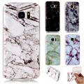 Art Fashion Marble Pattern Printing Cases For Samsung Galaxy S3 S4 S5 S6 S7/Edge J310 J510 J7 2016 soft TPU Phone Case Cover