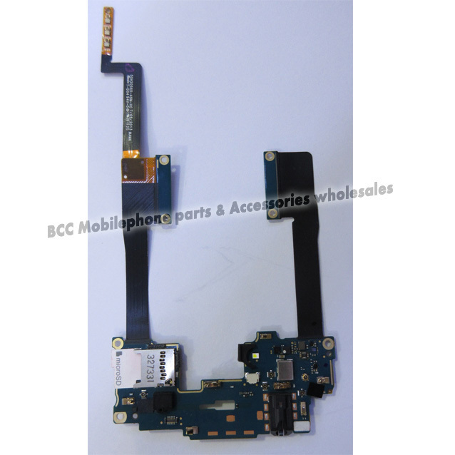 Original Motherboard Flex For HTC One Max T6 8088 8060 809D Power ON/OFF Volume Button+Headphone Jack Connector Ribbon Cable