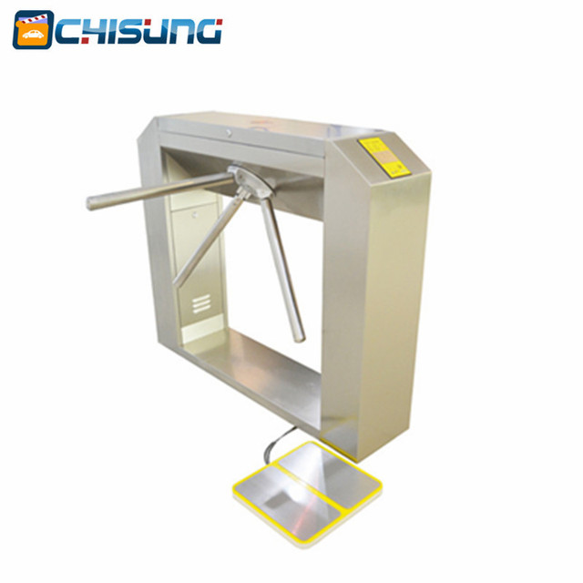New factory RFID access control Cheapter Semiautomatic Bridge Tripod Turnstile with housing 304 stainless steel