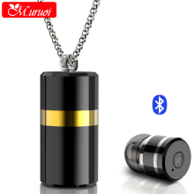 M.uruoi Necklace Design Bluetooth 4.1 Headset Handsfree Inear Earbud For iPhone kulakl k Mini Wireless Earphone For Xiaomi Phone
