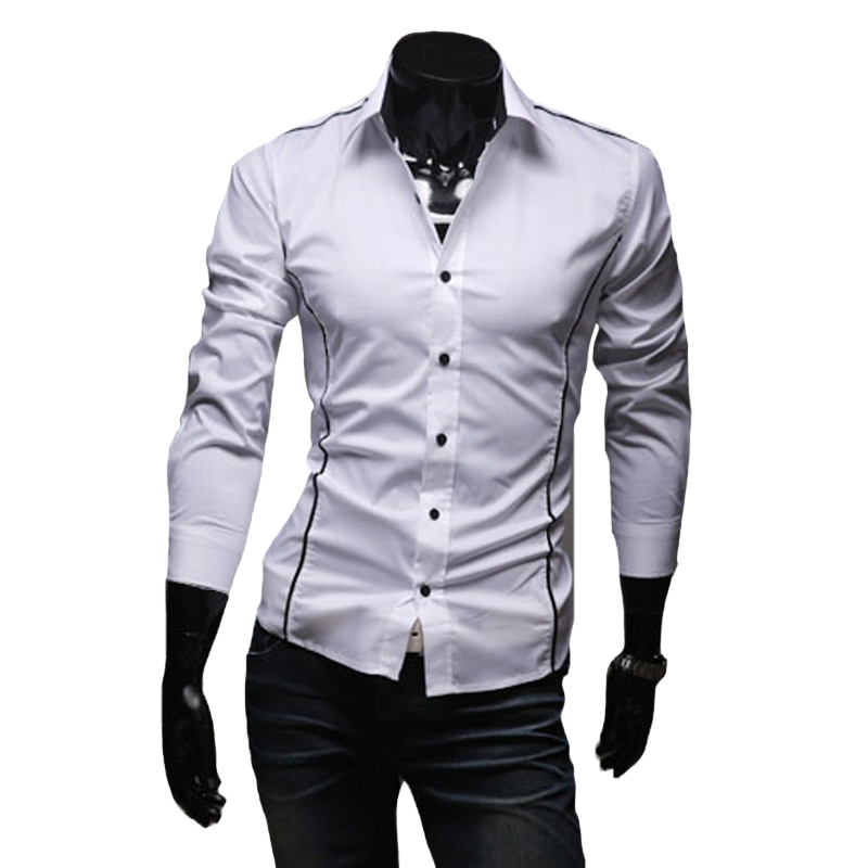 Hot sale mens shirts men 39 s dress shirt long sleeve casual for Mens long sleeve t shirts sale