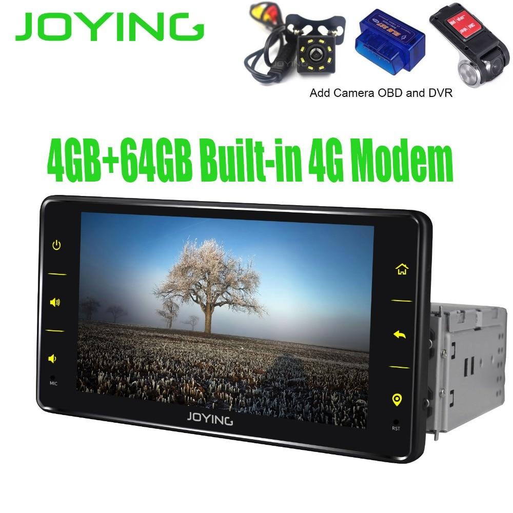 6.2 Head Unit Android 8.1 Octa Core Car Radio Stereo 4GB+64GB Multimedia Bluetooth GPS Player Built in 4G Modem DSP Carplay