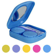 Cover Travel New Cute Mini Contact Lens Easy Carry Case Travel Kit Kit Easy Carry Lenses Protector Container