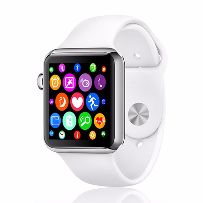 Smartwatch Bluetooth Smart Watch Heart rate tracker for iPhone IOS Android Smart Phone Wear Clock Wearable Device Smartwach no 1 g4 smart watch mtk6261a bluetooth heart rate health tracker smart watch for ios android phones for iphone