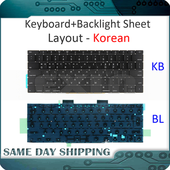 """NEW for Macbook Pro Retina 13"""" A1708 Keyboard Korean Korea with Backlight Backlit Late 2016 Mid 2017 Year"""