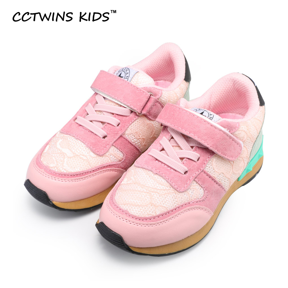 CCTWINS KIDS 2017 spring baby boy lace flat trainer children fashion black breathable shoe girl brand casual sneaker stud F1215