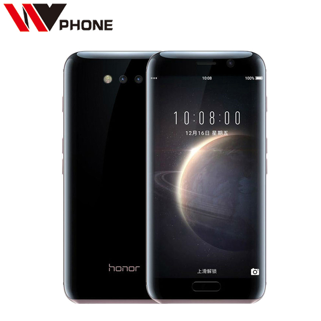 "Original Huawei Honor Magic 4G LTE Mobile Phone Android 6.0 kirin 950 Octa Core 4g Ram 64g Rom Dual Camera 12.0MP 5.09"" NFC"