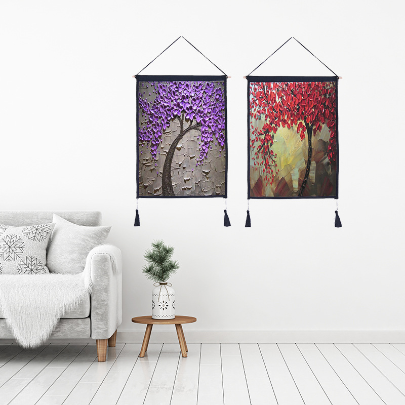 11 09 30 De Réduction Créatif Suspendus Peinture Pour Salon Décoration Murale 3d Fleur Design Toile Impression Peinture Par Numéros Mur Art