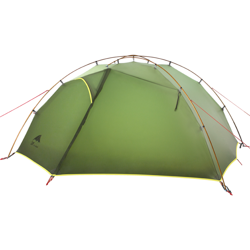 3F UL GEAR 15D Nylon Fabic Double Layer 3 4 Season Camping Tent Waterproof Tent For