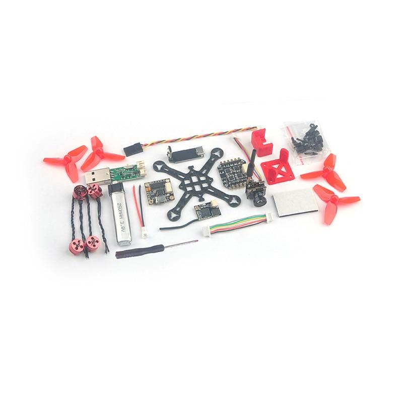 купить Happymodel Trainer66 66mm 1S Brushless Indoor FPV Drone PNP Kit 600TVL Camera F4 Flight Controller 4in1 ESC Frsky Flysky DSM RX по цене 4683.67 рублей