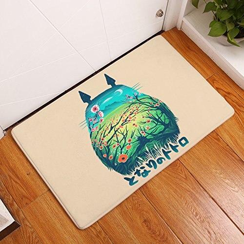 Cedmon My Neighbor Totoro Door Mat Soft Absorbent Nonslip Doormat Floormat Bath Mat Bathroom Shower Rug Carpet Cartoon