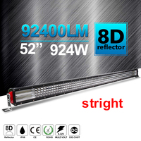 CO LICHT 52 ''OffRoad Led-lichtbalk 924 W Auto LED Bar voor Jeep Wrangler Truck ATV SUV Dodge Ram 4x4 Ford Combo 12 V