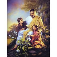 Diamond Painting Full Of Jesus And Children New 5D Diy Living Room Bedroom Embroidery Mosaic Cross Stitch