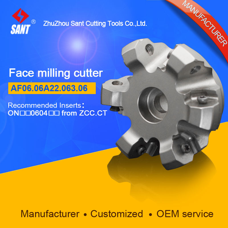 Indexable milling cutter milling tools Match insert ONHU08T5 face cutter cutting disc FMA07-063-A22-ON06-06/AF06.06A22.063.06 high quality indexable milling cutter face milling tools bmr03 025 xp25 m for carbide insert xpht25r1204