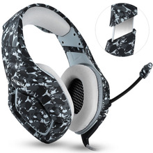 NDJU K1 Camouflage Headset Super Bass PS4 Gaming Headphones with MIC Game Earphones for PC Mobile Phone Xbox one Tablet casque