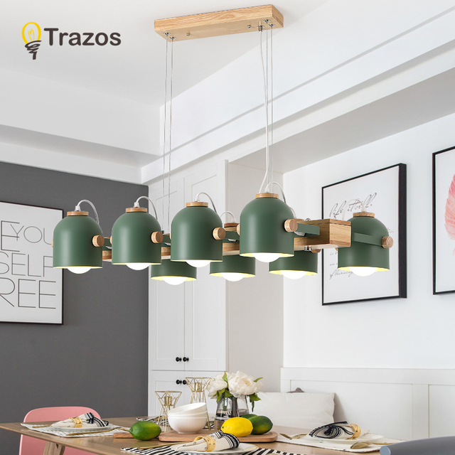 Modern Chandelier Lighting For Office Kitchens Suspension Luminaire