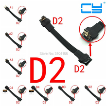 5 см 10 см 15 см 20 см 30 см 50 см FPC ленты плоский Micro HDMI 2,0 тип D экранированный FPV кабель для HD Multicopter аэрофотосъемки