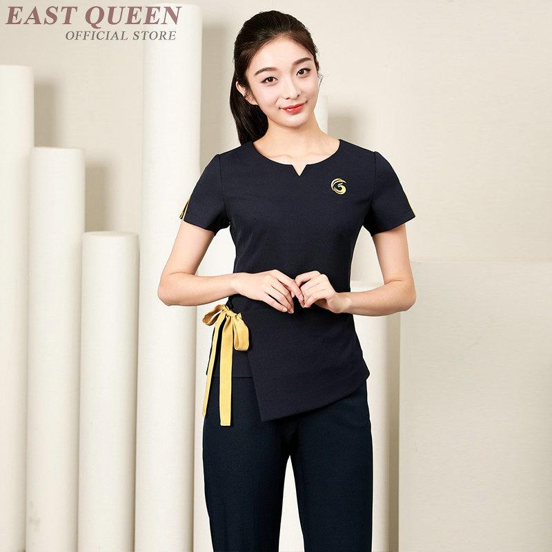 Nurse Uniform Clothes Nurse Medical Clothing Robes Clinical Uniforms Woman Beautician Massage Beauty Salon Spa Uniform DD1062