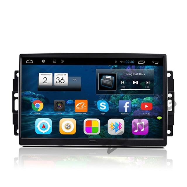 "9 ""RAM 2g Android Auto DVD Player GPS Für Chrysler/300C/Aspen Für Jeep/Cherokee /Commander/Kompass/Wrangler/Dodge/Reise BT WIFI"