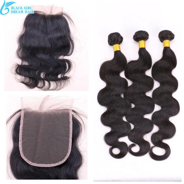 Peruvian Virgin Human Hair 5x5 Lace Closure With Bundles ,Cheap Hair Bundles With Lace Closure Body Wave No Tangle No Shedding