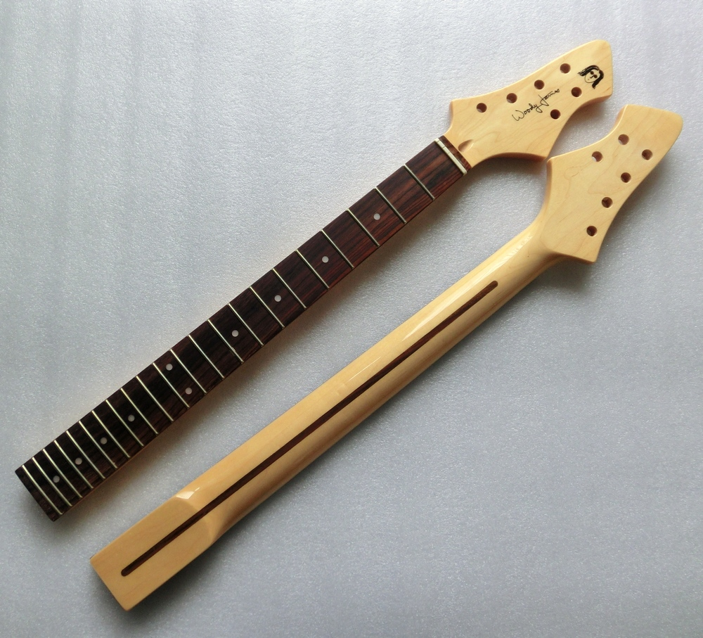 Musical Instruments Careful Electric Guitar Neck With Rosewood Fingerboard 22 Frets Guitar Parts & Accessories