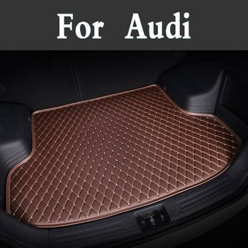 High-Quality Custom Car Trunk Mats Auto Accessories Styling Car Styling For Audi A8l Tts Rs-6 Rs-5 Tt Rs-4 Rs-7 Rs Tt Rs-3 R8 фото
