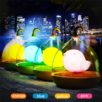 2017 Newest Birdcage LED Night Light USB Rechargeable Use In Night For Baby Bedside
