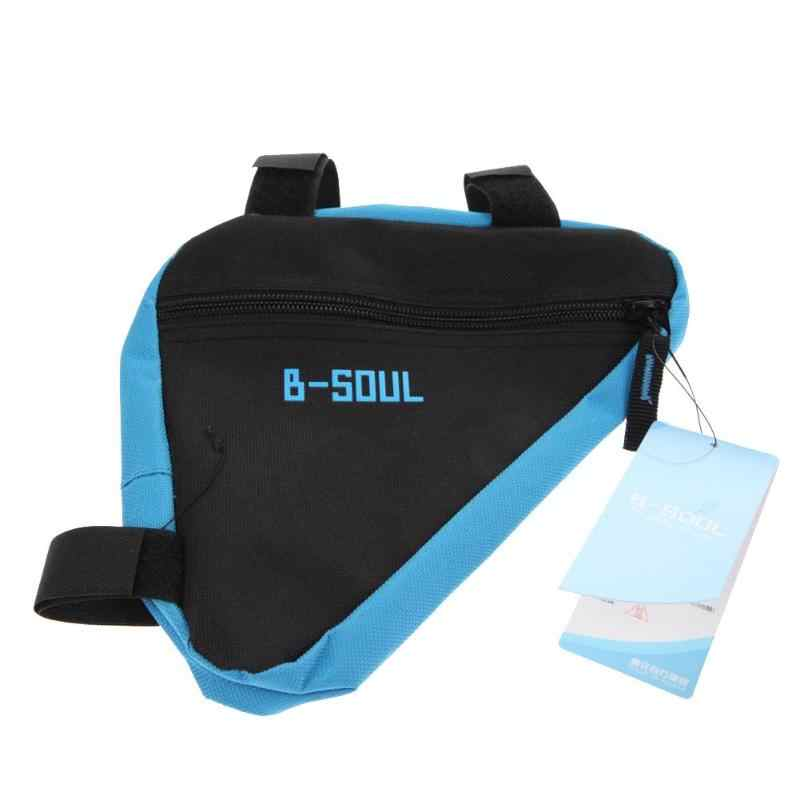 Waterproof Triangle Bike Bag Front Tube Frame Cycling Bicycle New Bags MTB Road Pouch Holder Saddle Bicycle Bike Accessories