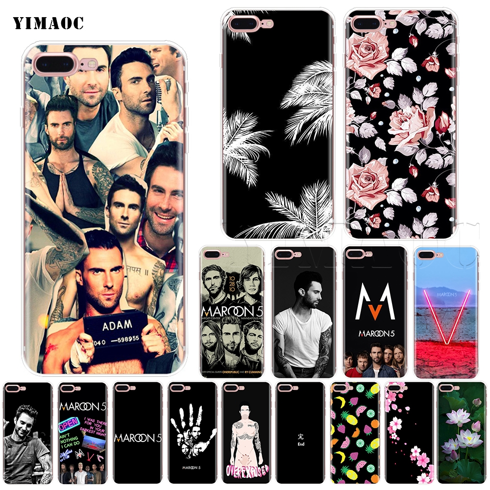 YIMAOC Maroon 5 Adam Levine Soft Silicone Case for iPhone 5 5s SE 6 6s 7 8 Plus X