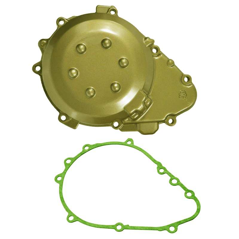 LOPOR Motorcycle Parts Engine Stator Cover Crankcase With Gasket For Kawasaki ZX9R 1998-2003 1999 2000 2001 2002 ZX-9R ZX 9RLOPOR Motorcycle Parts Engine Stator Cover Crankcase With Gasket For Kawasaki ZX9R 1998-2003 1999 2000 2001 2002 ZX-9R ZX 9R