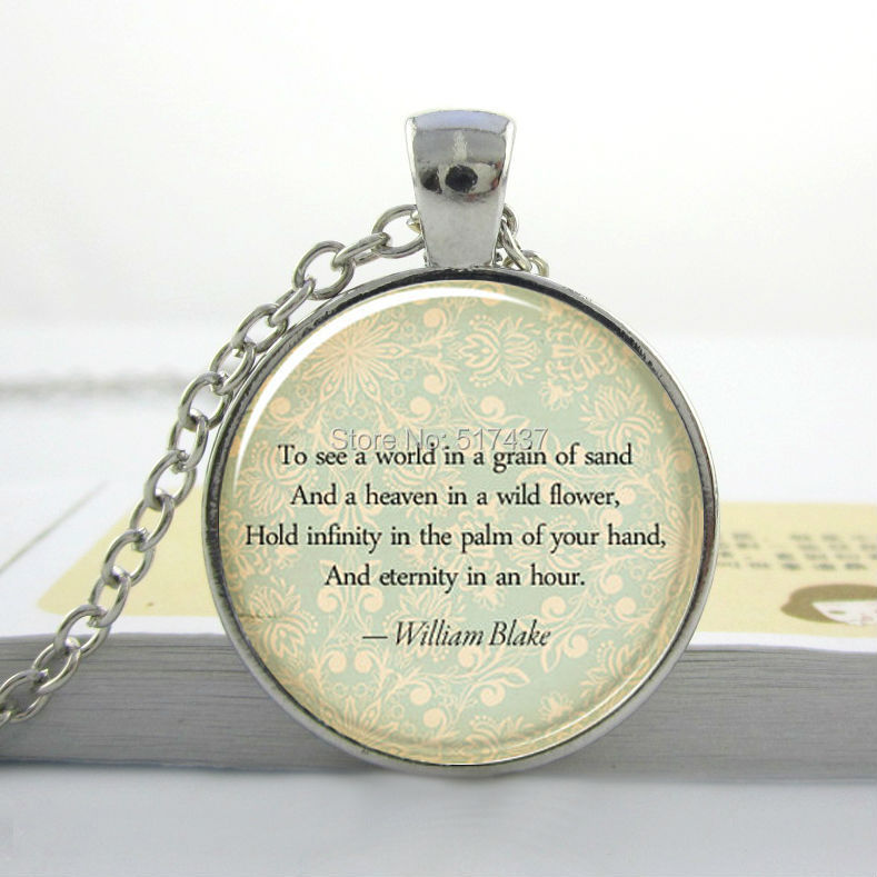 Gl Dome Necklace Vintage Custom Quote Personalized Jewelry For Poem Song Lyrics Or Text Hz1 In Pendant Necklaces From