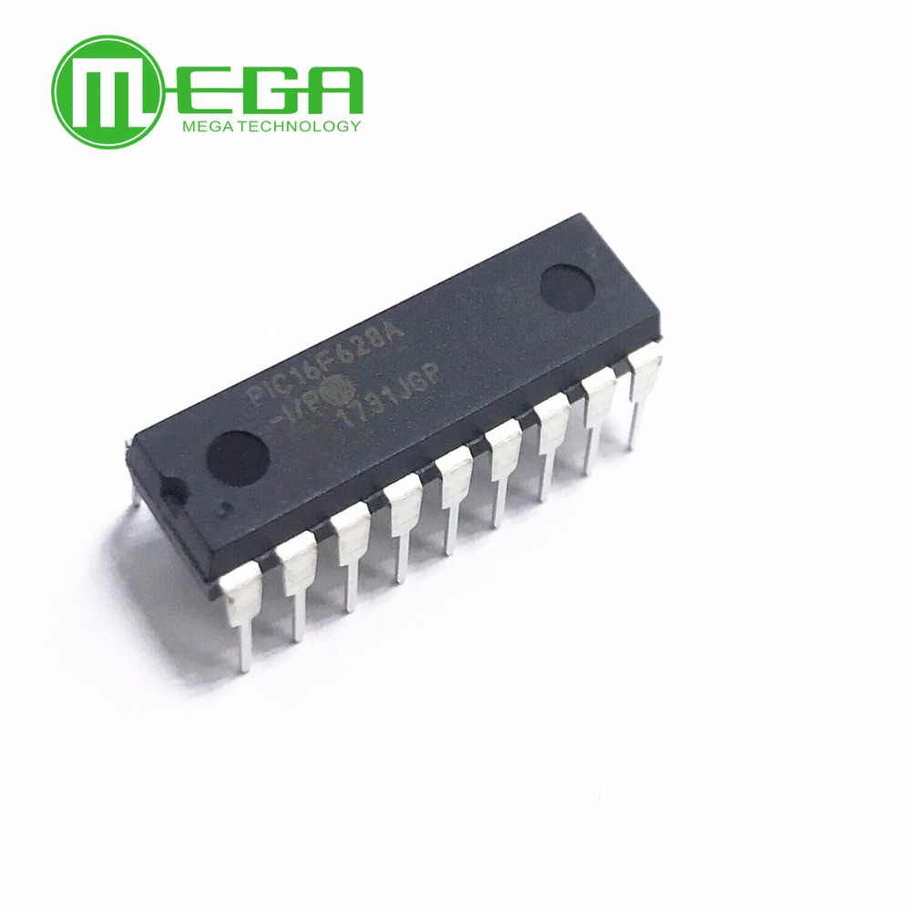 New 10pcs PIC16F628A-I/P <font><b>16F628</b></font> DIP18 IC MCU FLASH 2KX14 image